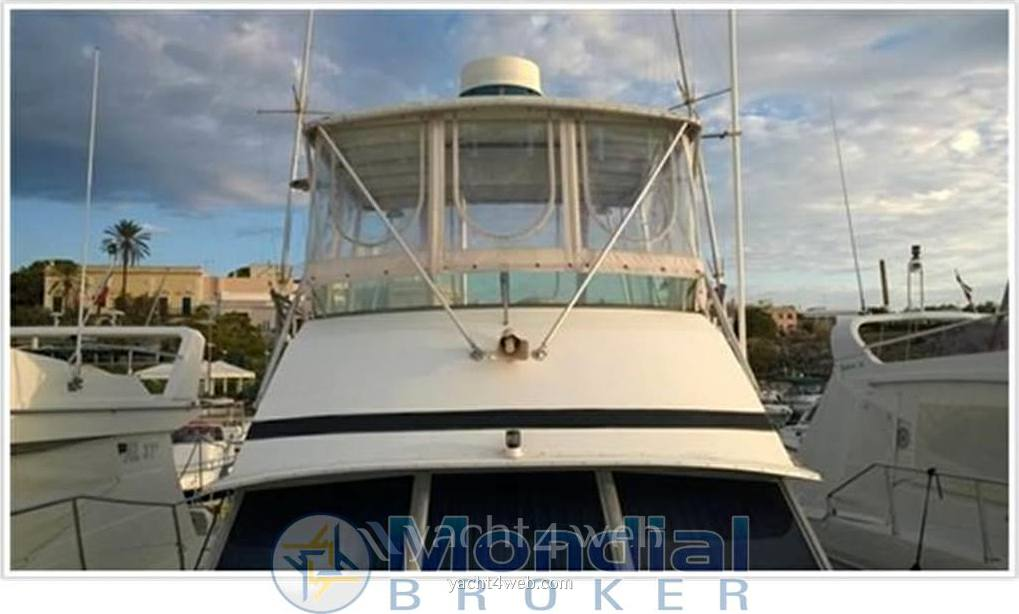 Bertram yacht 35' convertible Flybridge