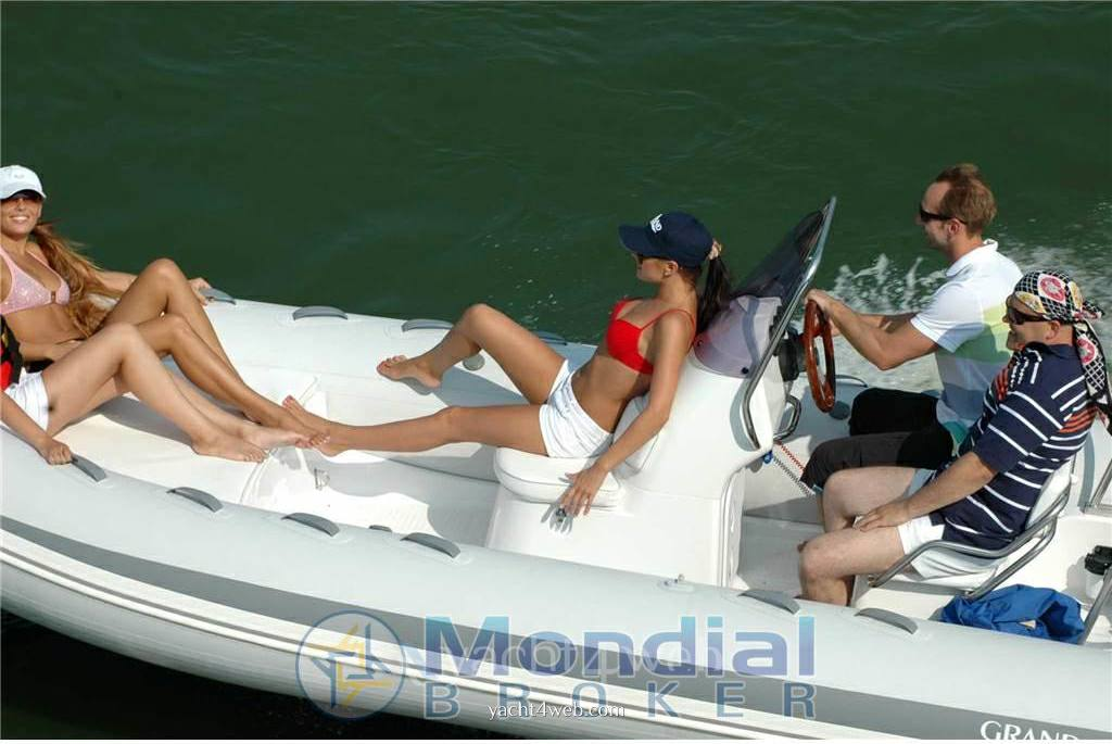 Grand Silver line s 520 hl Gommone used boats for sale