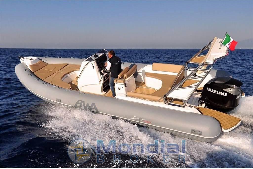 Bwa nautica 28 sport gto Gommone bateaux d'occasion à vendre
