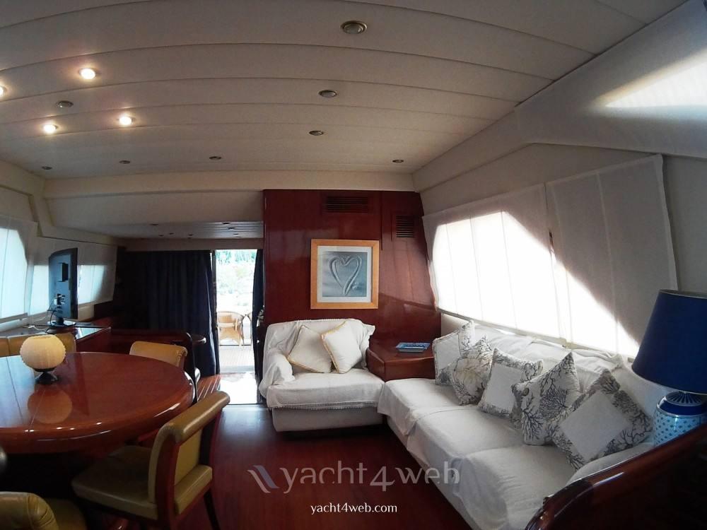 POSILLIPO Technema70 Flybridge charter