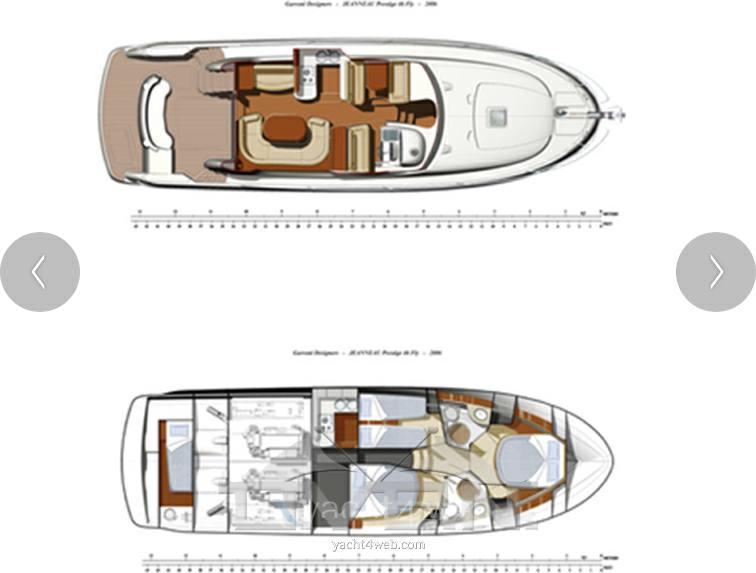 Janneau Prestige 46 Barco de motor usado para venta