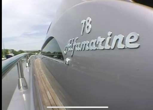 Alfamarine Alfamarine 78 hard top