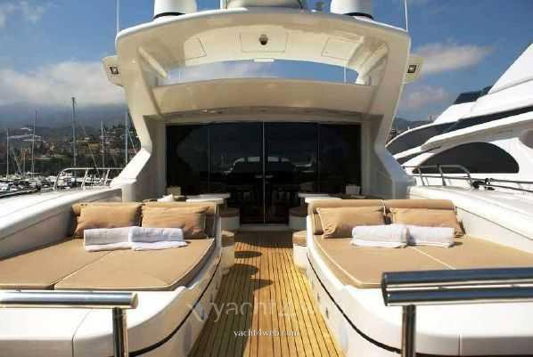 Mangusta 108 Motor yacht used