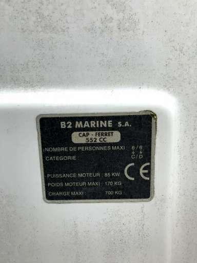 B2 MARINE B2 MARINE Cap ferret 552 cc