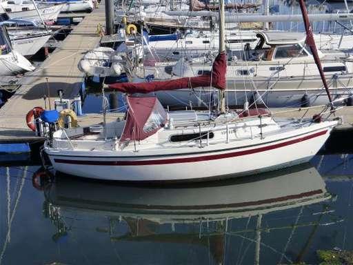 Colvic craft Colvic craft Colvic 26 sailer bilge keel