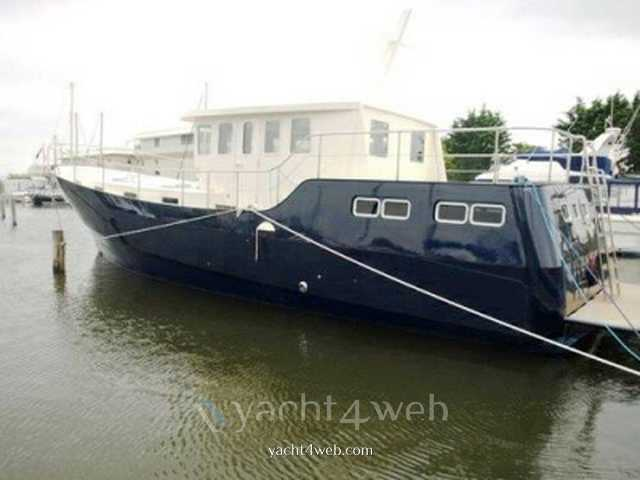 CUSTOM STEEL Custombuilt steel 16 houseboat