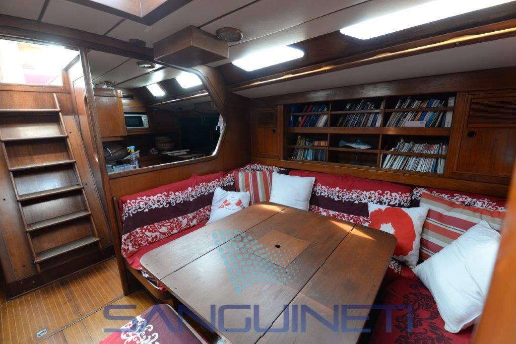Nautor Swan 651 sailing boat