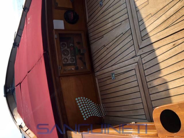 Cantieri del Sud Gozzo pontato motor boat