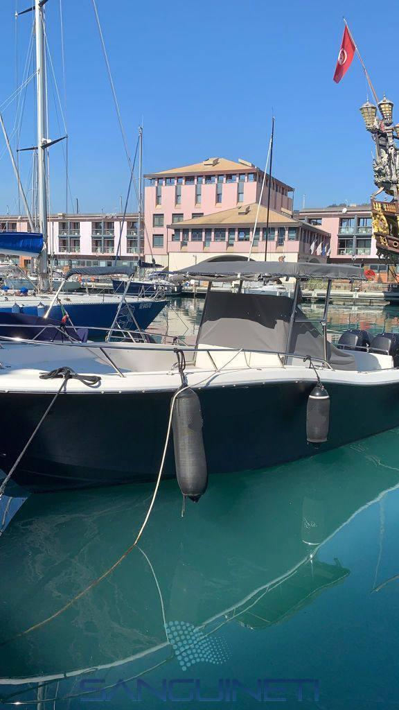 White Shark 285 Express cruiser