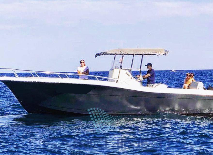 White Shark 285 motor boat