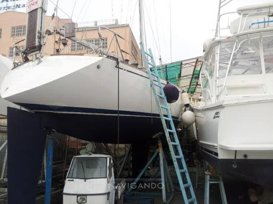 Benetti 43 sail used