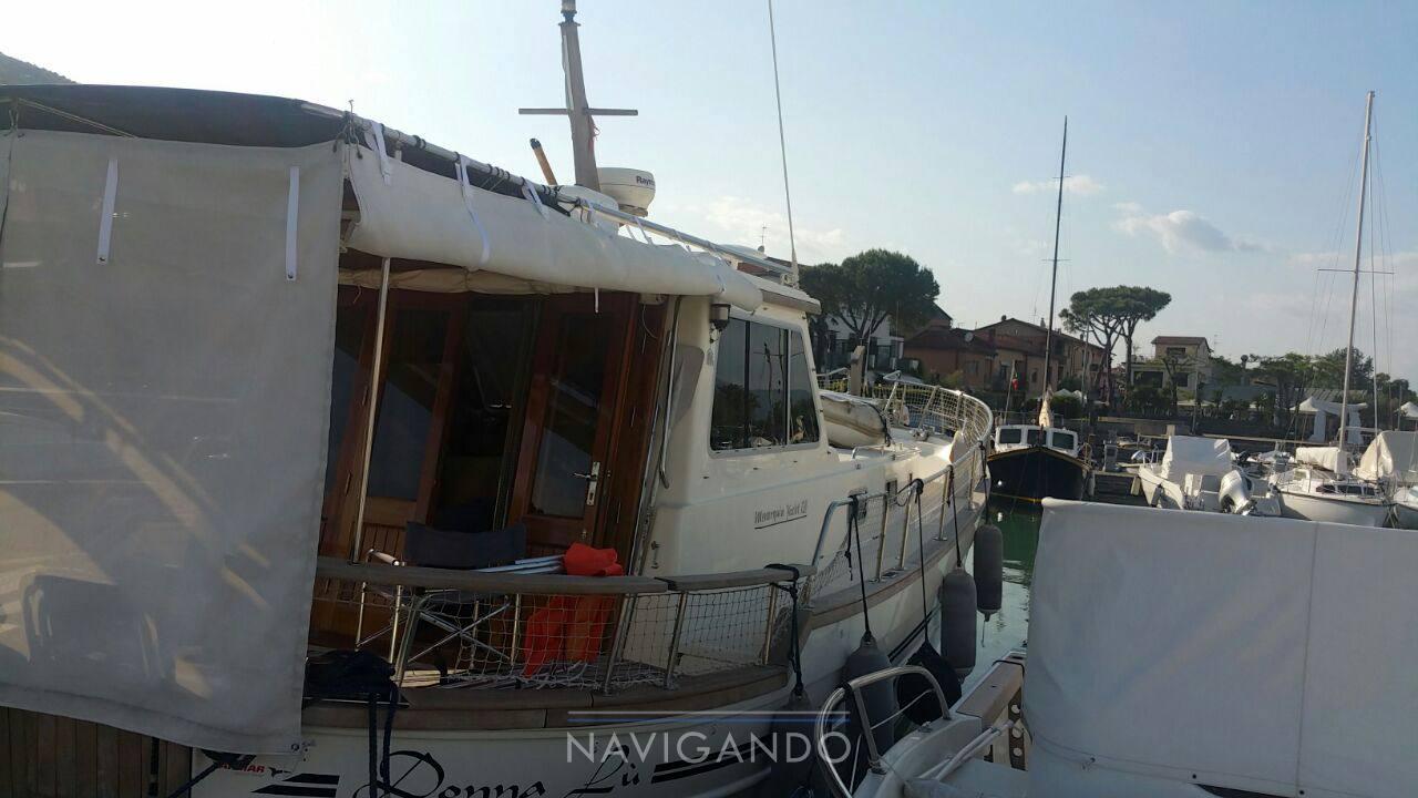 Menorquin 120 t Gozzo cabin cruiser