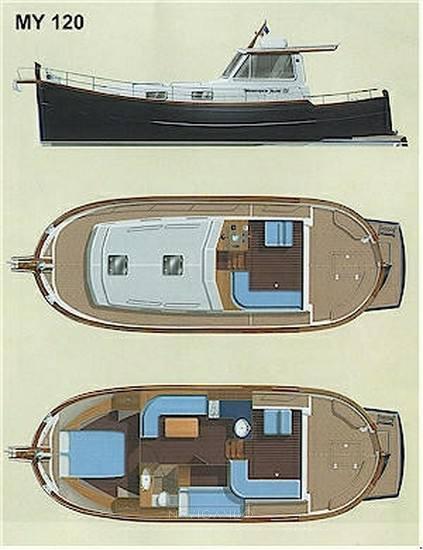 Menorquin 120 t Barco a motor usado para venda