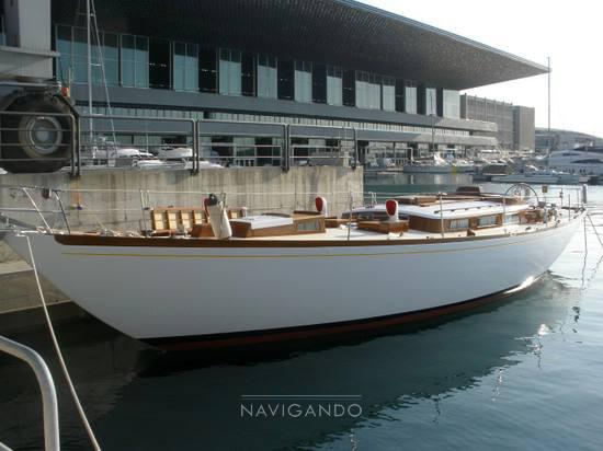 Mc-gruer-sparkman-stephens Sloop -cutter barca d'epoca Sailing boat used for sale