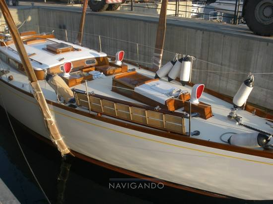 Mc-gruer-sparkman-stephens Sloop -cutter barca d'epoca Sail cruiser