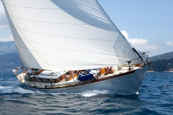 Mc-gruer-sparkman-stephens Sloop -cutter barca d'epoca sailing boat