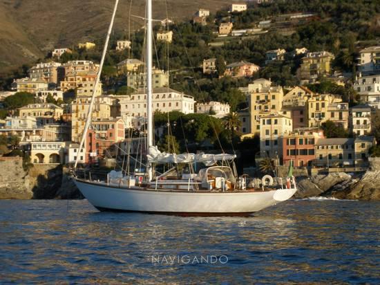 Mc-gruer-sparkman-stephens Sloop -cutter barca d'epoca Sail cruiser used