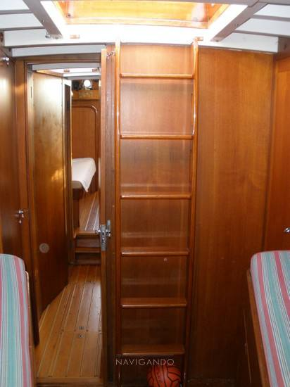 Mc-gruer-sparkman-stephens Sloop -cutter barca d'epoca 1967