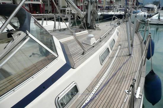 Hallberg rassy 42 f Парусная лодка