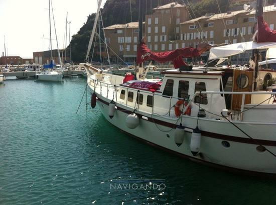 Olandese Ketch barca a vela