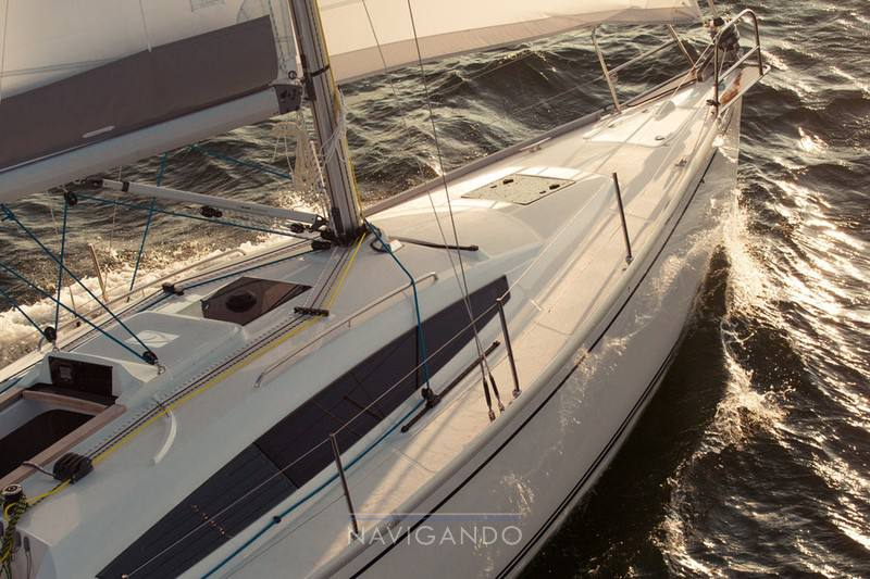 Delphia 34 Парусная лодка