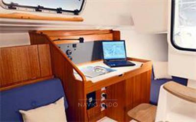 X yachts 35 sailing boat