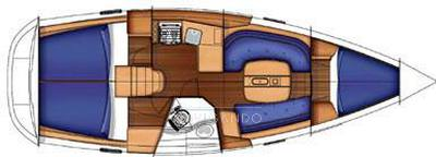 Beneteau 343 Sailing boat used for sale