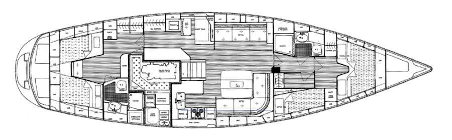 Halberg-grassy 53 ht Croiseur de voile occasion