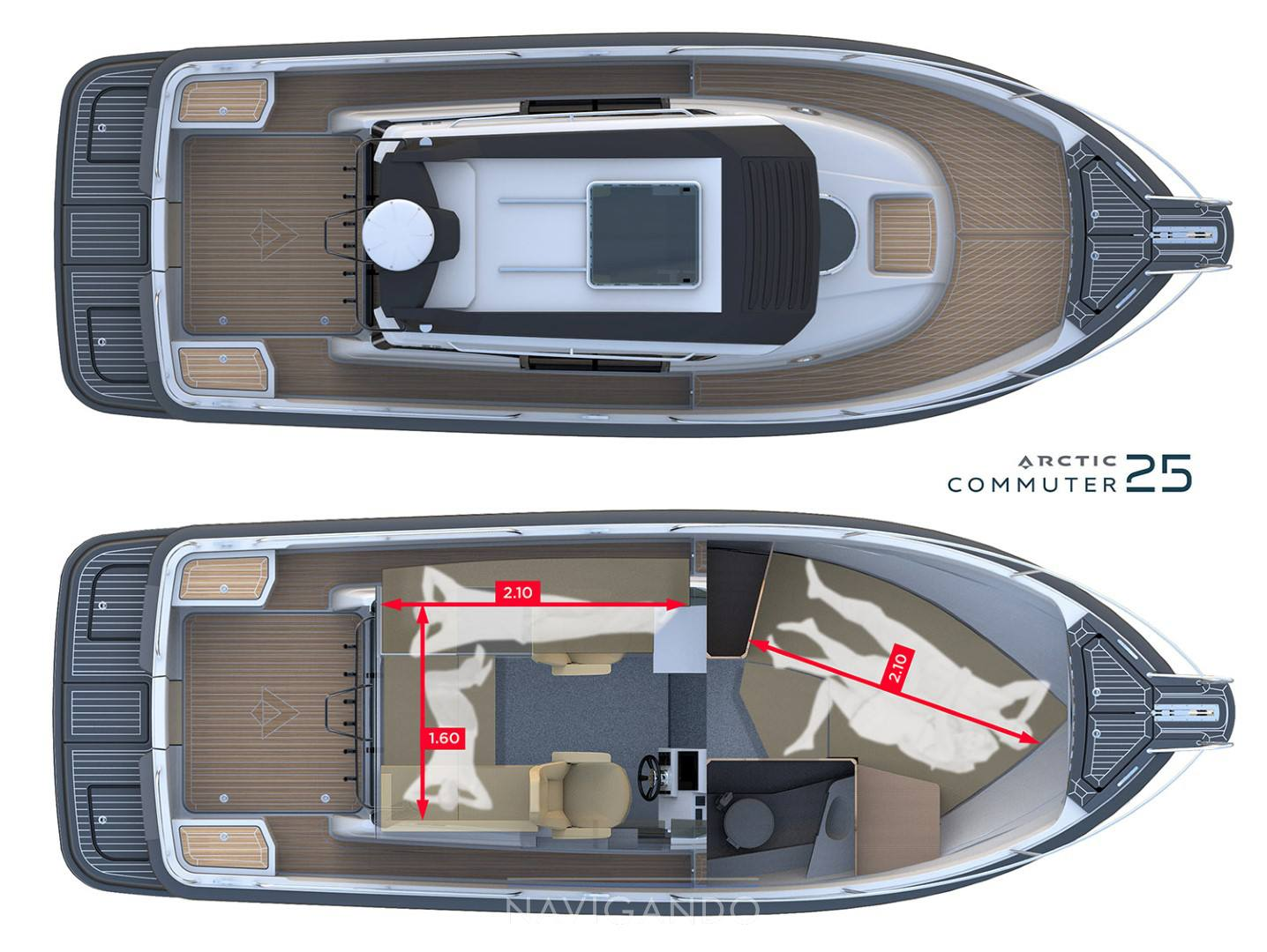 Artic Commuter 25 Motor yacht new