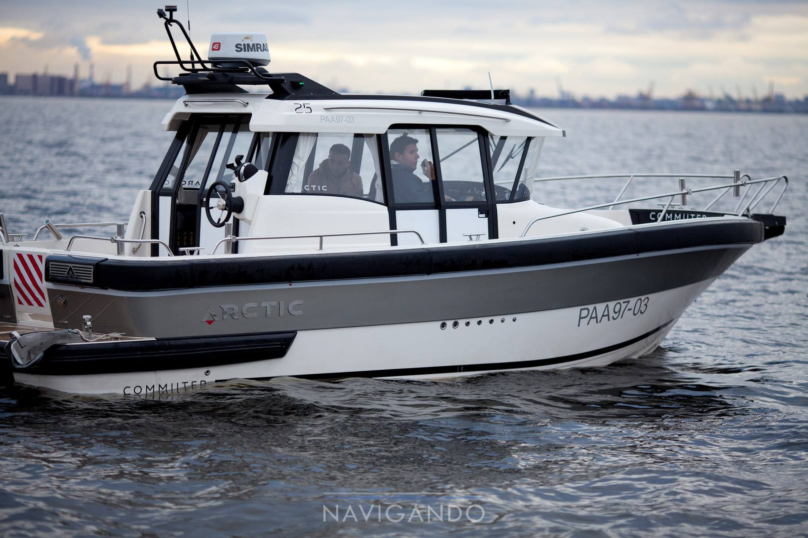 Arctic Commuter 25 Motor boat used for sale