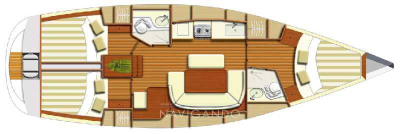 Dufour 385 gl 帆船