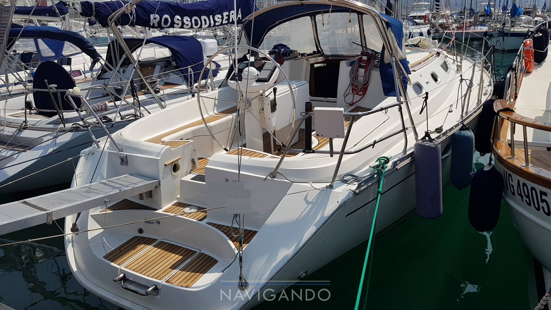 Jeanneau Sun odyssey 42.2 Sailing boat used for sale