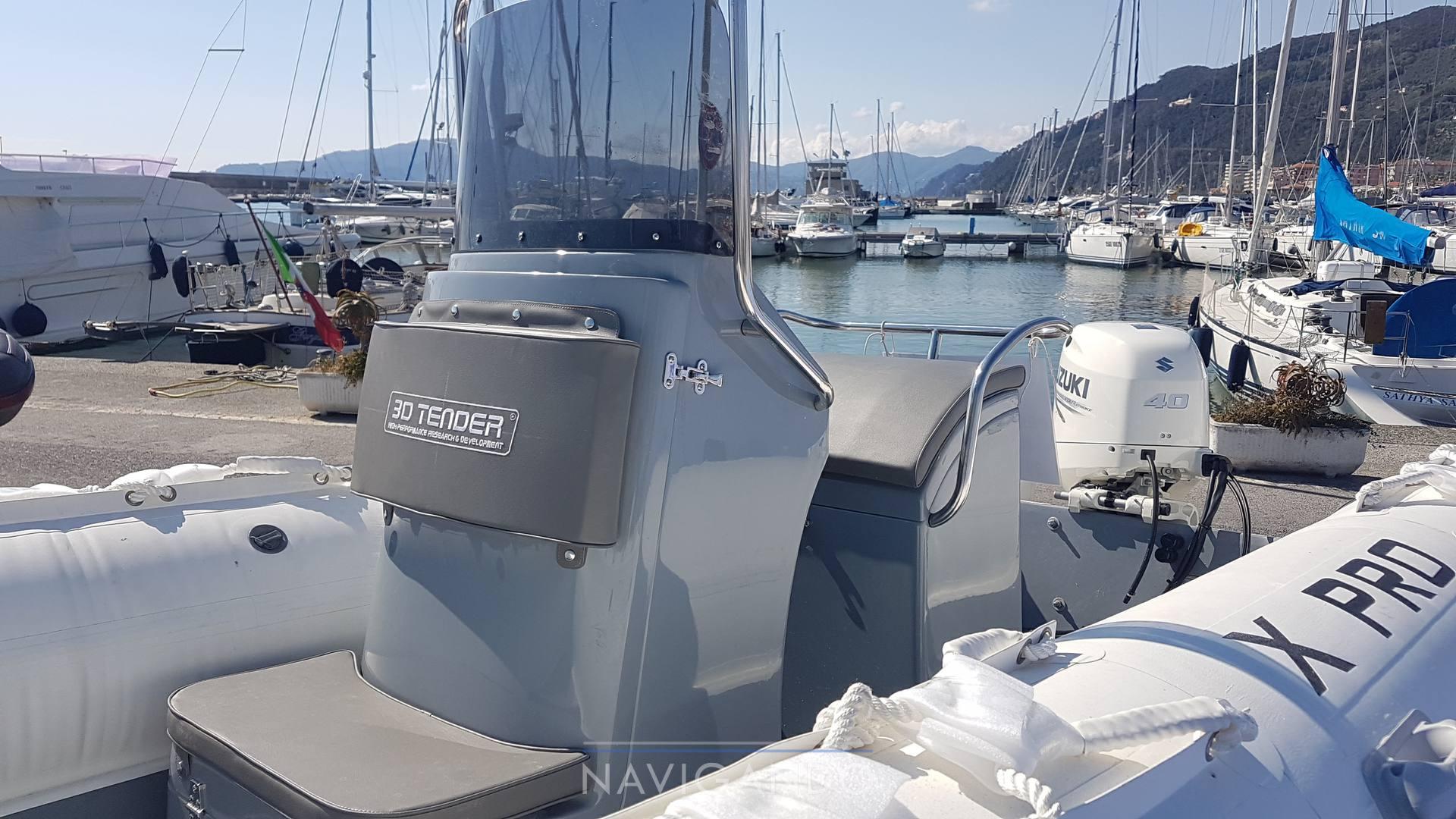 3d tender X pro 535 机动船 新发售