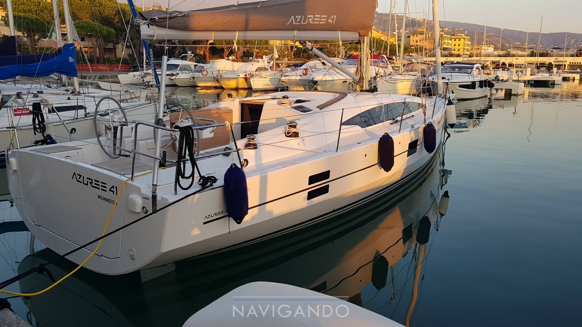 Azurre 41 Sailing boat used for sale