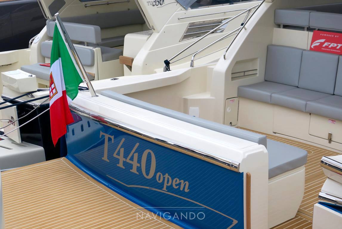Tuccoli 440 ht Motor boat used for sale