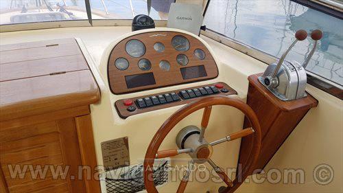 Fratelli Aprea Sorrento 750 Gozzo cabin cruiser