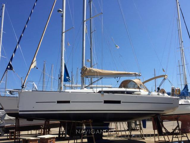 Dufour 382 grand large sailing boat