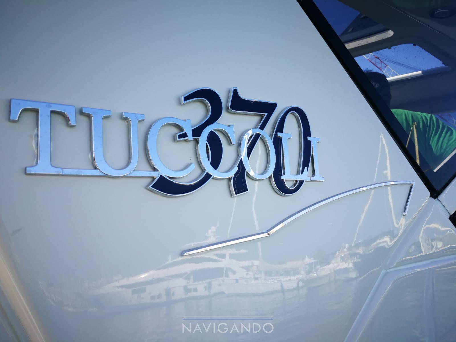Tuccoli T 370 coupè Barca a motore usata in vendita