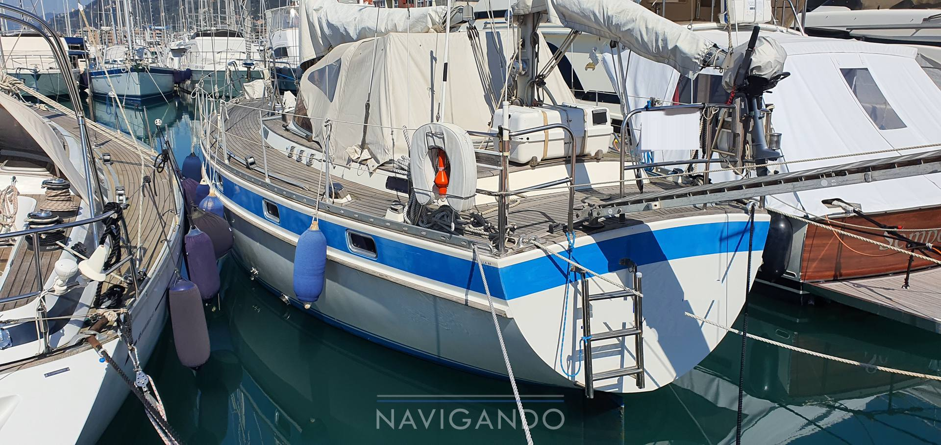 Trintella 44 ketch Sailing boat used for sale