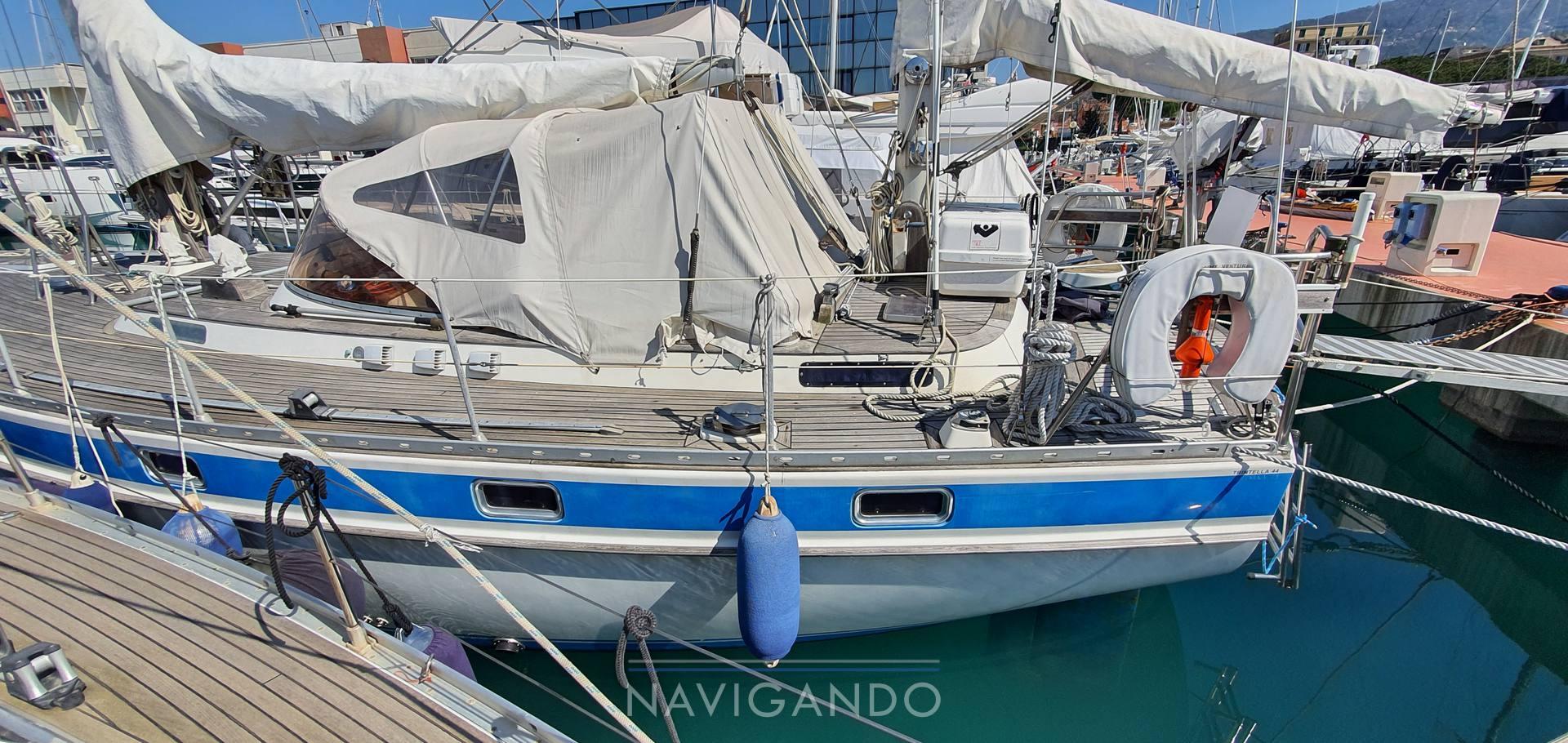 Trintella 44 ketch sailing boat