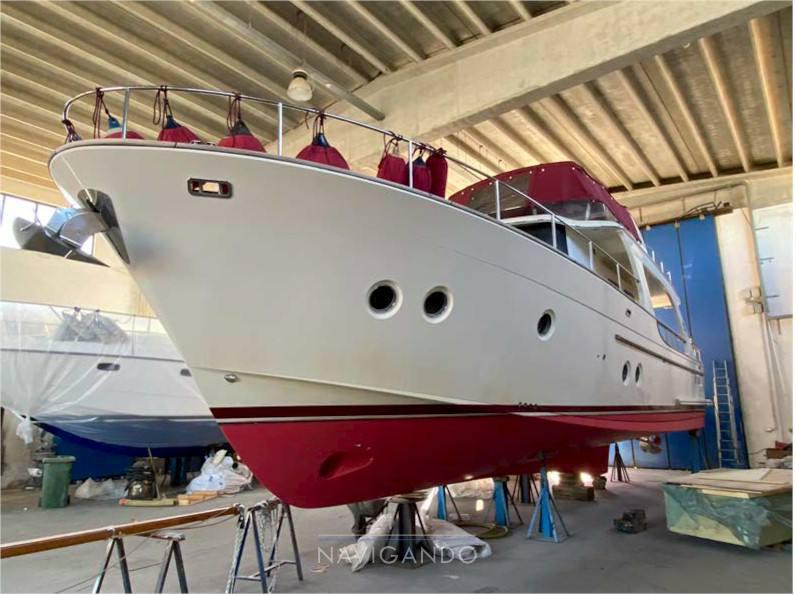 Skagen 50 Моторная лодка используется для продажи