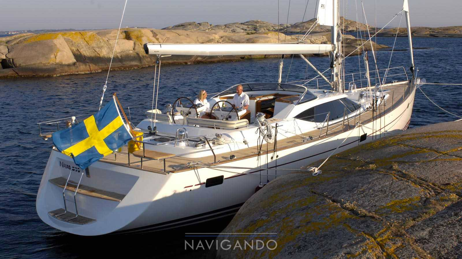 Najad 570 Sailing boat new for sale