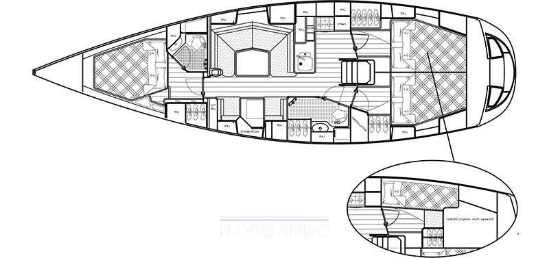 Najad 440 ac Croiseur de voile