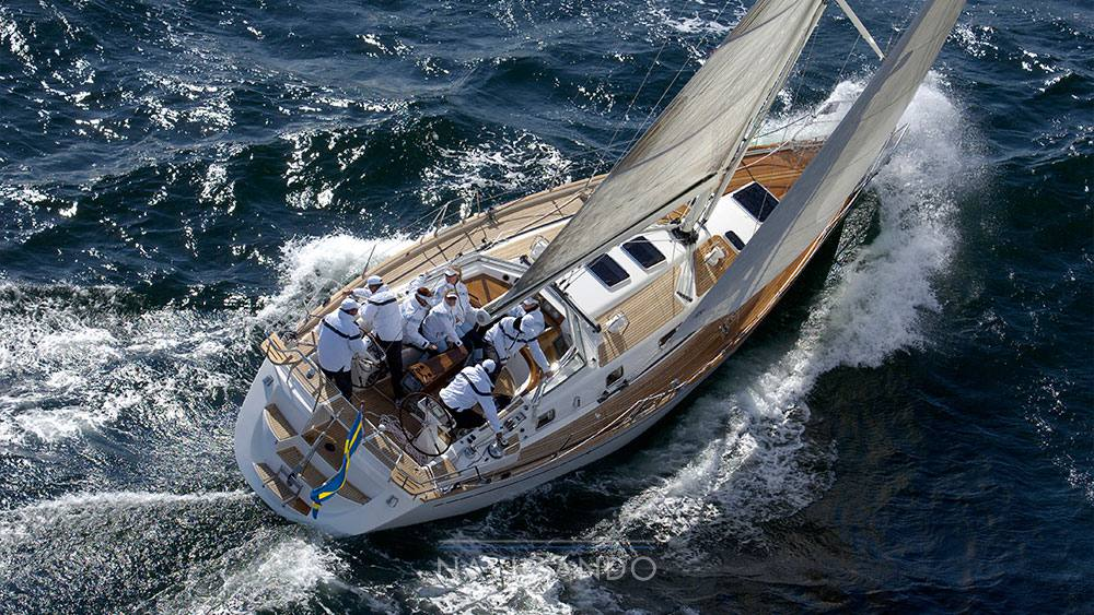 Najad 440 ac bateau à voile