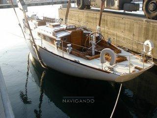 Sparkman & Stephens Sloop -cutter barca d'epoca