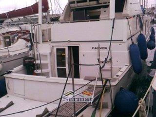 Carver yachts 400 cockpit USATA