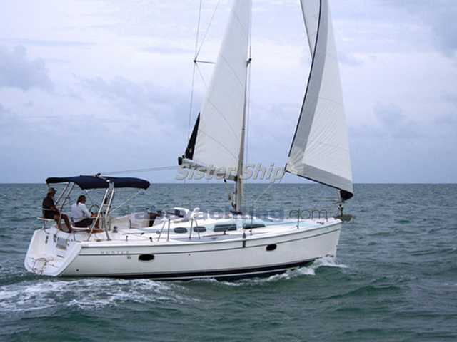 Hunter 36 shoal keel