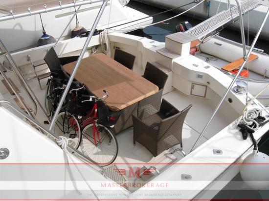 Hatteras yachts 65 enclosed bridge