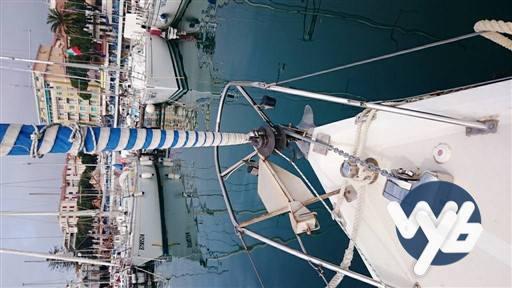 Contest Yacht 29 Vela