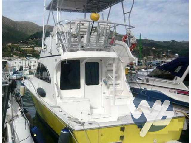 Luhrs 33 convertible fly